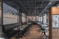 KNRDY Restaurant by Suto Interior Architects, Budapest