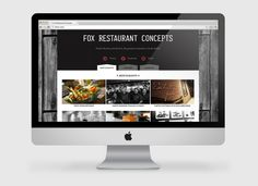 Fox Restaurant Concepts web design by Kitchen Sink Studios