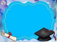Maurelis Chacon's media content and analytics Graduate School, Pre School, Certificate Background, School Frame, Preschool Graduation, Borders For Paper, Graduation Party Invitations, Monogram Frame, Certificate Templates