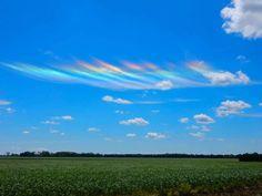 Arcoíris de fuego (arco circunhorizontal) desde Ontario, Canadá – El Universo Hoy