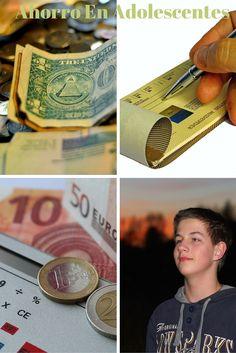 La mayoría de los adolescentes hacen desaparecer un fajo de billetes en un abrir y cerrar de ojos, es decir gastan rápidamente. El ahorrar dinero no se les pasa por la mente, no piensan que es importante.