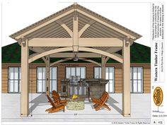 Your Own Beautiful New Backyard In One Afternoon: Homeowners seeking to create a new and dramatic backyard makeover with unparalleled durability, lasting impact, in the smallest amount of time, can find it in a timber frame ShadeScape™ pergola kit from Western Timber Frame.