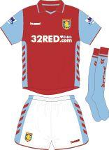 Aston Villa Football Kits Home Kit 2006-2007