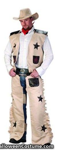 HDE Wild West Cowboy Adult Mens Halloween Costume - Halloween Costumes 2013