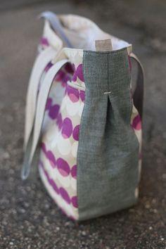 noodlehead: Purple Super Tote (diaper bag idea?)
