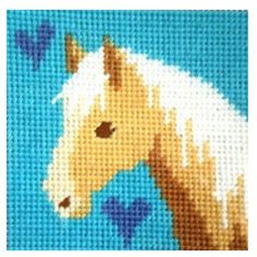 Horse Free Cross Stitch Pattern Chart