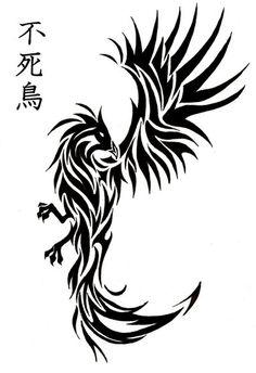 Phoenix tatoo by Bleckhart.deviantart.com on @deviantART