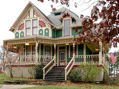 victorian homes eureka ca | Victorian House In Eureka Springs...