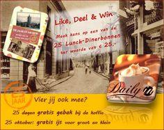 Like, deel en win bij Daily-in