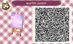 eridanstophalf: a lot of people liked that sparkly pattern i made last year and i found this one hiding in my sd card,so hear you go i guess!