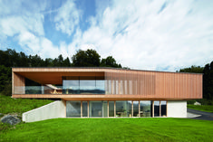 Modern House Design : Haus K by Helena Weber Architecture Design, Residential Architecture, Amazing Architecture, Stommel Haus, Modern Lodge, House On The Rock, Modern House Design, Design Awards, Cabana