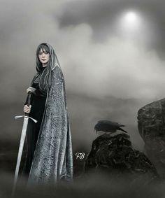 The Mist of Avalon__Nebel Elfenaemy World Of Fantasy, Fantasy Art, Les Innocents, Mists Of Avalon, Shield Maiden, Warrior Queen, Medieval Fashion, Medieval Fantasy, Sci Fi Art