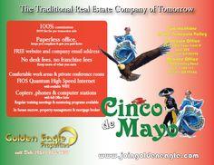 Cinco de Mayo Recruiting Flyer for Golden Eagle Properties