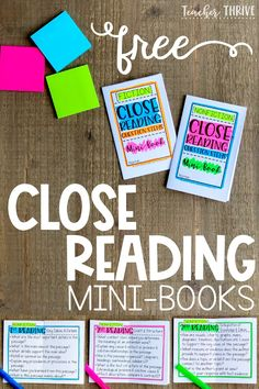 Tips and tricks for close reading. This post covers how to select the right text and how to scaffold instruction so that all students can be successful at close reading. Middle School Reading, 4th Grade Reading, Kindergarten Reading, Teaching Reading, Teaching Ideas, Reading College, Guided Reading, Close Reading Lessons, Close Reading Strategies
