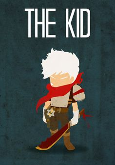 Bastion…The Kid  Created by Procastinating