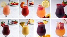 8 Fruity & Frozen Sangrias for Girls' Night - YouTube
