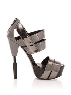 Futuristic heels. Emily Baldwin | Future of Possible | Socia Media Atlanta