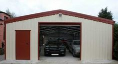 These are generally buildings which are pre-engineered in controlled factory environment. These are transported to the building location and then constructed and assembled to develop a metal building. Prefabricated steel buildings provide you with amazing uses and options to select from.