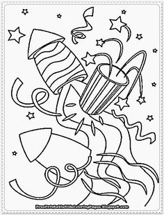 new years eve coloring page new years eve coloring pages - New Years Coloring Pages