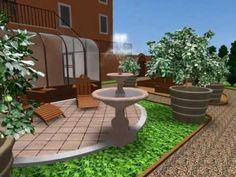 CAD 3D-Greenhouse Garden-Day