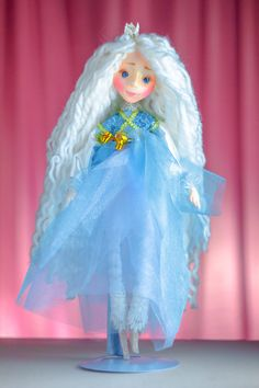 Excited to share the latest addition to my #etsy shop: Fairytale gift -  Christmas angel doll. Such tender and dreamy!.. http://etsy.me/2BARSNv #artdolls#artdoll #ooakdoll #artistdoll #fairytale #ooak