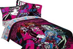 monster high bedding