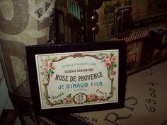 FRENCH decor Rose De Provence shelf sitter by JulieannasCreations