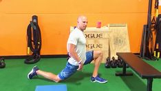 Tip: Rear Foot Elevated Hip Flexor Stretch