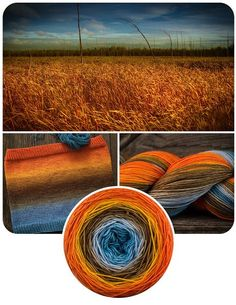 The Blue Brick Ombré series is a collection of long-run gradient yarns, hand dyed to match photography, and objects from the natural world. This skein will ship with the photograph used as the main product image. Ombré yarns may be ordered in any of the bases listed below. Please note that these yarns are dyed-to-order, and that, from dyeing to delivery may take up to three weeks.     Killarney Sock80/20 Superwash Merino/Nylon500yards/457 metres per skein  Niagara MCNSport7...