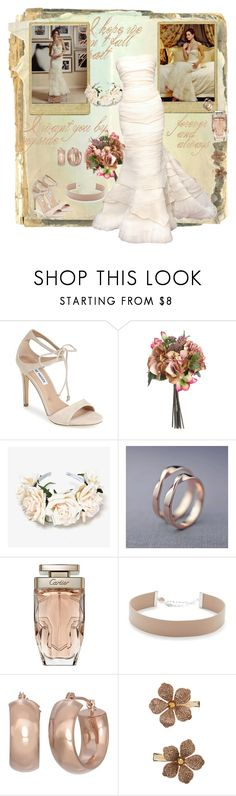 """I want you by my side"" by sasane ❤ liked on Polyvore featuring Steve Madden, Cartier, Jennifer Zeuner, Gioelli and Monsoon"
