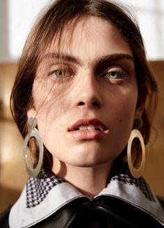 confessions in leather: maria palm by frida marklund for bon se! | visual optimism; fashion editorials, shows, campaigns & more!
