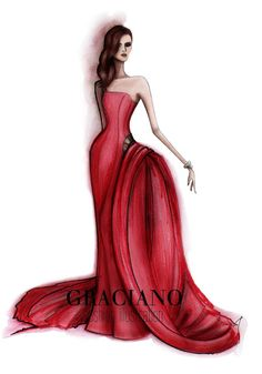 GRACIANO fashion illustration: Nieves Alvarez| Be Inspirational ❥|Mz. Manerz: Being well dressed is a beautiful form of confidence, happiness & politeness
