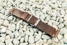Brown HORWEEN leather Apple Watch band 38mm, Apple Watch Strap 38mm, Apple Watch Leather, Apple watch. FREE SHIPPING.