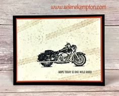 Cutting for Card Making and Stampin' Up One Wild Ride Stamp Set, Free Class, Selene Kempton #stampinup #makeacard