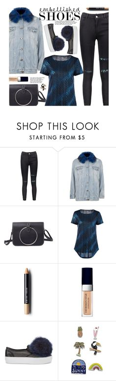 """""""Untitled #2780"""" by beebeely-look ❤ liked on Polyvore featuring River Island, Bobbi Brown Cosmetics, Christian Dior and Rebecca Minkoff"""