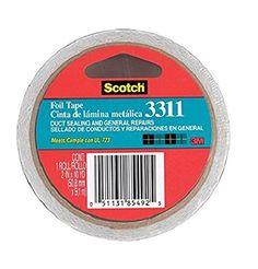 3m 2in. X 10 Yards Scotch Aluminum Foil Tape 3311-10A
