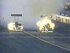 Top Fuel Engine Explosions