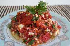Σαλάτα με πιπεριές Φλωρίνης και φέτα - cookeatup