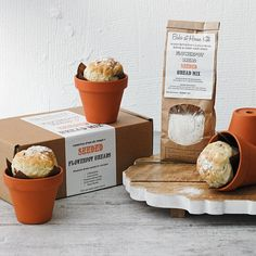 Artisan Seeded Flowerpot Bread Making Kit