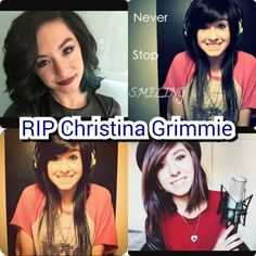 Repost this pass it on may u RIP Christina Grimmie
