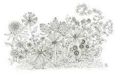 Image result for BLACK AND WHITE MODERNIST GARDEN DRAWING