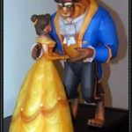 Beauty and the Beast Free Papercraft Download