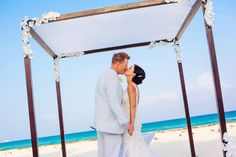 Beach Wedding at Royal Hideaway Playacar. An experience like no other.