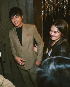 Double Breasted Suit, Suit Jacket, Suits, Jackets, Daniel Padilla, Kathryn Bernardo, Love Couple, Ford, Couples