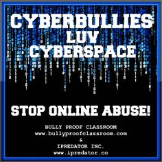 Cyberbullying is the act of directing threatening or disparaging information at a target child using Information and Communications Technology. Cyberbullying is harmful, repeated and hostile behavior intended to taunt, embarrass, deprecate & defame a targeted child. Dissimilar to classic bullying, cyberbullying includes Cyberbullying by proxy, which is when a cyberbully encourages or persuades others to engage in deprecating and harassing a target child. www.iPredator.co