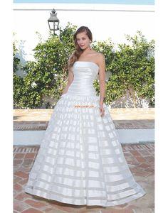 Jardin / Extérieur Balayage / pinceau train Zip Robes de mariée Designer
