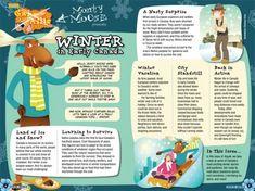 children's magazines layout - Google Search