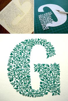 Suzy Taylor, an extraordinarily talented paper-cut artist in Hertfordshire, England, creates mind-bogglingly detailed works of paper art that are cut entirely by hand. She cuts each of her original designs out of a single piece of paper. Kirigami, Tattoo Lettering Design, Suzy, Paper Cutting Patterns, Folded Book Art, Book Folding, Book Sculpture, Paper Sculptures, Paper Artwork