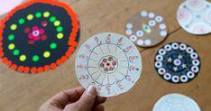Sticker Mandala Art for Kids