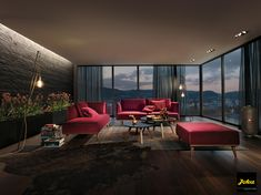 #InnenarchitekturToferer Sofa Couch, Outdoor Furniture Sets, Outdoor Decor, Barcelona Chair, Lounge, Design, Home Decor, Living Room Modern, Modern Living Rooms